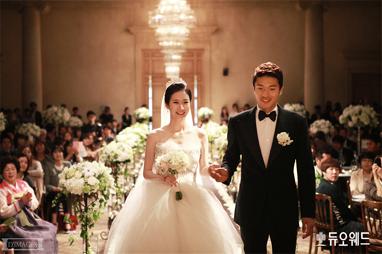 [박종우 선수] 독도 세러머니의 그 남자! 축구선수 박종우의 결혼식 현장!