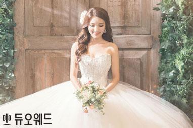 MTN 정혜림 아나운서 로맨틱 리허설 웨딩화보