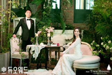 새하얀 눈처럼 맑게 빛나는 겨울의 신부! KBS 김빛이라 기자 웨딩화보