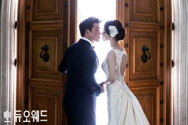 넥센히어로즈 야구선수 김민성 리허설웨딩화보 공개!