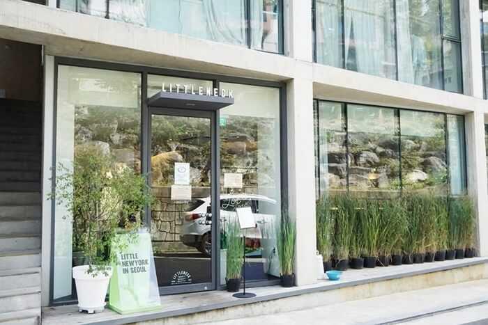 서울 속 작은 뉴욕 브런치 카페 '리틀넥 한남'
